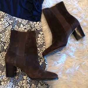 EUC Cole Haan suede boots